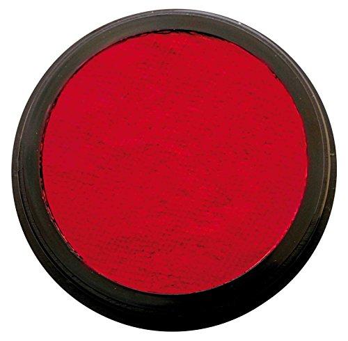 Eulenspiegel 185766 - Colore professionale ad acqua, per trucco viso e corpo, Rosso rubino, 35 g / 20 ml