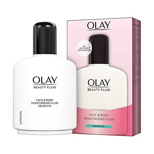 Olay Beauty Fluid viso e corpo idratante sensibile, 200 ml