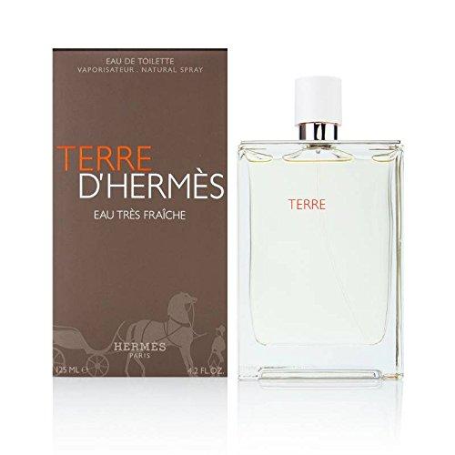 Hermes Terre d'Hermes Eau Tres Fraiche, Eau de toilette spray per uomo, 125 ml