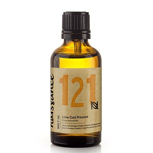 Naissance Olio di Lime Pressato a Freddo – Olio Essenziale Puro al 100%, Vegano, senza OGM - 50ml