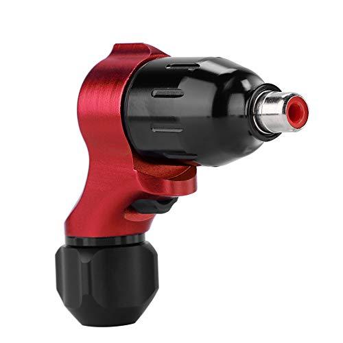 Rotative Tattoo, libellula macchina rotativa, Tattoo Grip Space alluminio CNC precisione intaglio Linea barra e ombreggiatura Professionale Migliore qualità di sicurezza(Rosso)