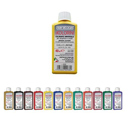 Colorante per Idropitture e Smalti iKOLORINI 40 ml SARATOGA (KE08 Verde Vivo)