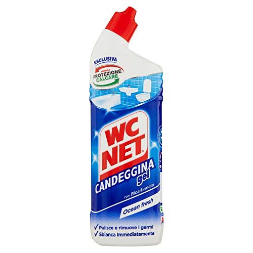Wc Net – Candeggina Profumata Gel Extra White, Fragranza Ocean Fresh, 700 ml