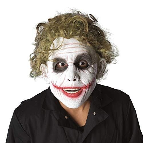 Rubie's, maschera e parrucca del personaggio Joker di Batman ufficiale,taglia unica