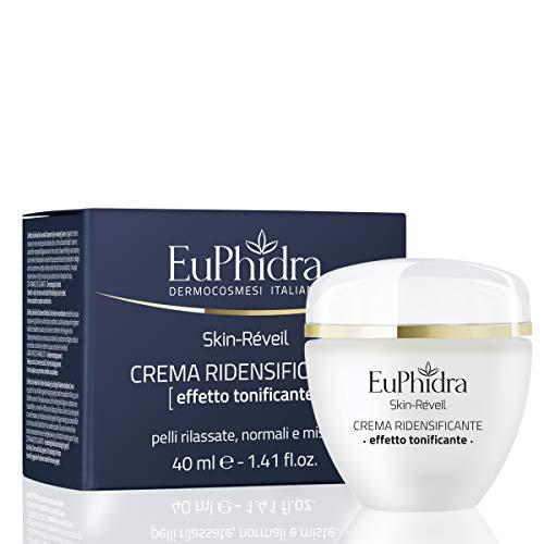 Euphidra Skin Réveil Crema Ridensificante, Effetto Tonificante, Pelli Rilassate, Normali e Miste - 40 ml.