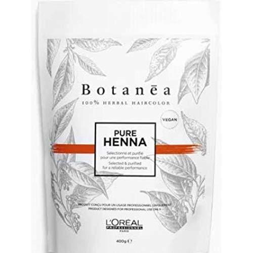 Pure Henna Shade Rosso Ramato 400 gr Botanea L'Oreal Professionnel