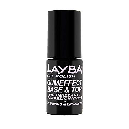 Layla Layba - Smalto effetto gomma, smalto base e coprente