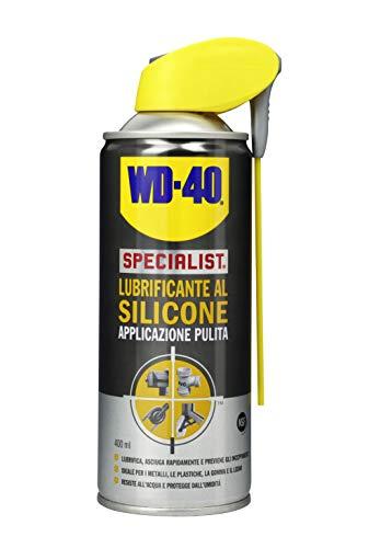 WD-40 Specialist Lubrificante al Silicone Spray Applicazione Pulita con Sistema Doppia Posizione - 400 ml
