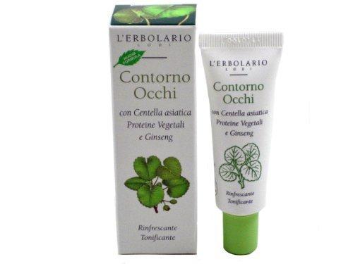 Contorno Occhi (Eye Gel) with Centella Asiatica, Vegetable Proteins & Ginseng by L'Erbolario Lodi by L'Erbolario Lodi