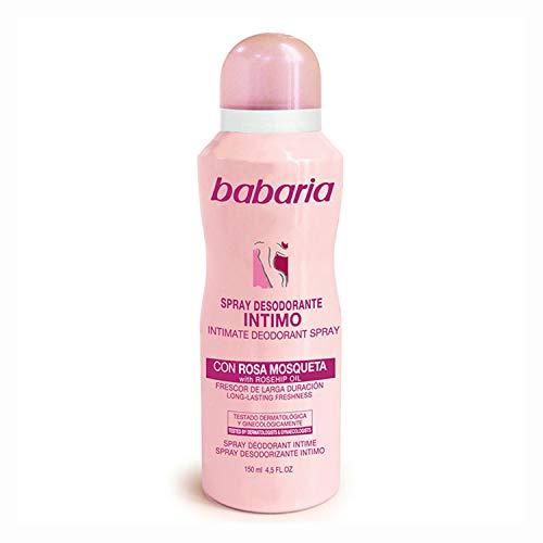 Babaria - babaria rosa mosqueta deodorante intimo spray 150ml