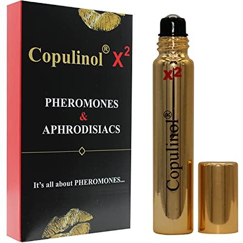 COPULINOL X2 100% feromone per donna Feromoni umani roll-on da 8 ml Regalo per i suoi uomini attraenti Afrodisiaci Molecole extra forti
