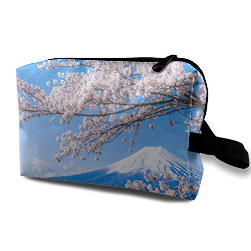 Japanese Cherry Blossom Storage Bag Hand Bag Pouch Wallet