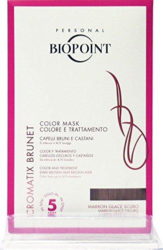 BIOPOINT Cromatix Maschera Capillare Marron Glacé Scuro 30Ml