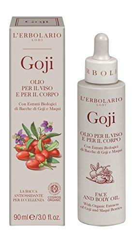L 'erbolario Goji Olio per viso e corpo, 90ML