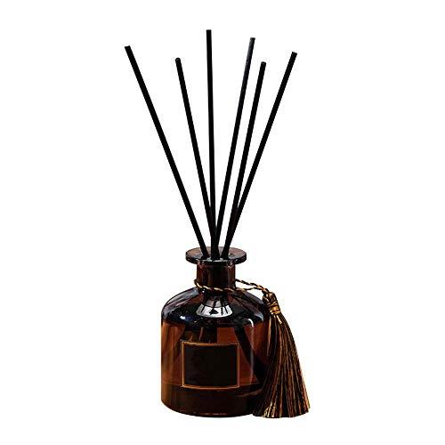NUOYIYI 50ml Fragranza Decorazione Bastoncini di Rattan Aria purificante Set di diffusori di aromi Aromaterapia Soggiorno Ufficio No Fire Olio Essenziale-Shangri-La