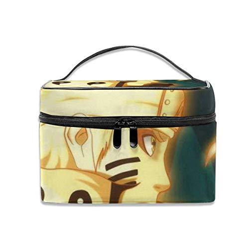 Naruto - Beauty case portatile da viaggio per trucchi, organizer multifunzione, per articoli da toeletta