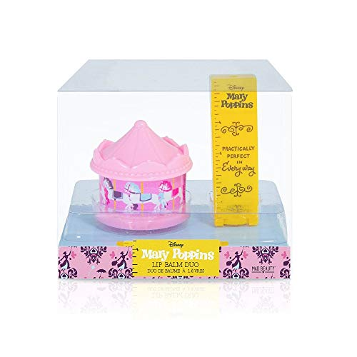 Mad Beauty Disney Mary Poppins Sugar Sweet Lip Balm Duo from