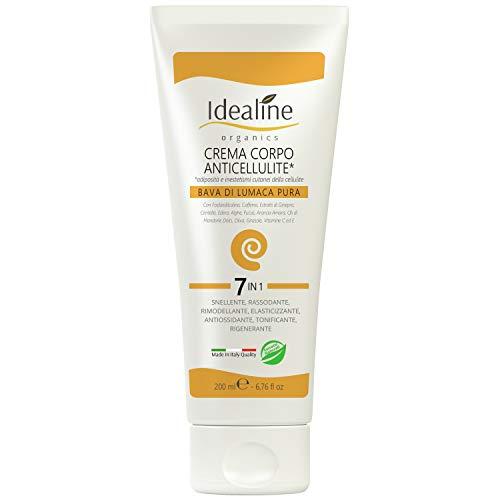 Crema Anticellulite Professionale Bava di Lumaca ULTRA LIFTING Crema Rassodante Corpo 200ml Idealine