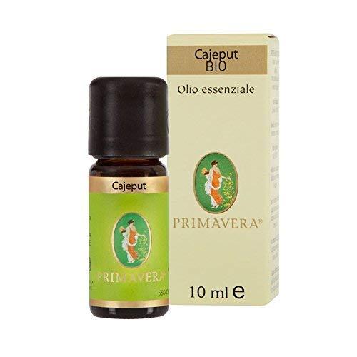 Flora Olio Essenziale Cajeput Bio Codex, Aroma Naturale per Alimenti - 10 ml