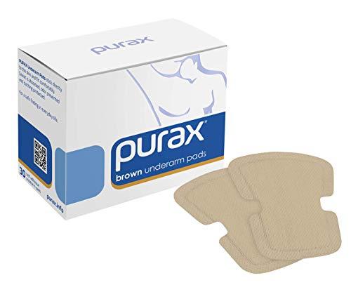 Tampone per ascelle Purax Pure Pads, color pelle, 30 pezzi