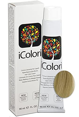 iColori - Crema Colorante Per Capelli 90 ml - No. 11.11 Biondo Extra Cenere Super Platino