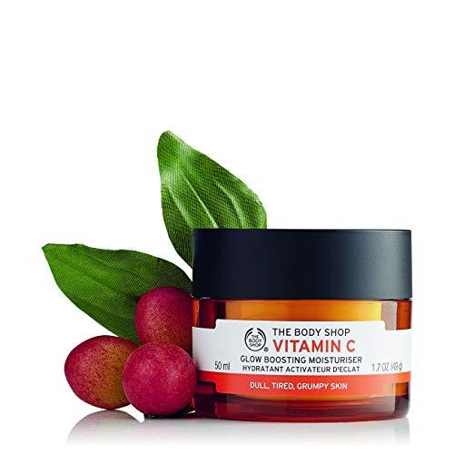 The Body Shop, idratante viso alla vitamina C, aumenta la luminosità della pelle (versione inglese)