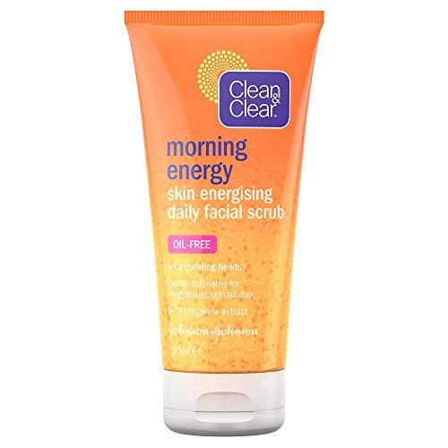 Clean & Clear, Morning Energy, scrub viso quotidiano energizzante, 150ml