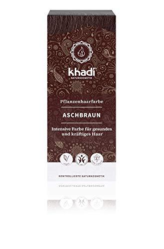 Khadi Bio - Colore vegetale capelli Castano Cenere 100 gr
