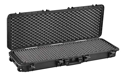 Max Cases - Valigetta a Tenuta Stagna, Ermetica con Spugne Bugnate per Trasportare e Proteggere Apparecchiature e Materiali Sensibili, MAX1100S, Dimensioni Interne 1100 x 370 x 140 mm