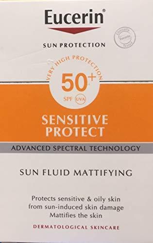 Eucerin Sun Fluid Mattificante SPF 50+, 50 ml