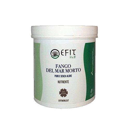 Fango del Mar Morto - Efit - 1kg - 100% puro e naturale - Tratta gli inestetismi della cellulite