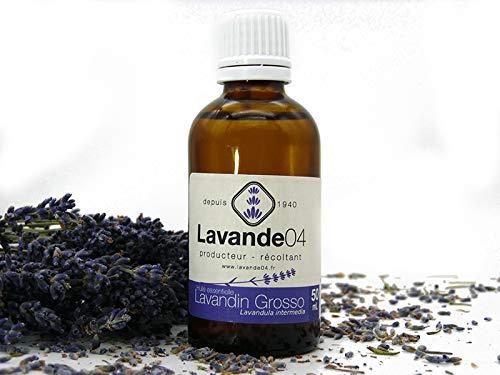 Olio essenziale di lavandino grosso, 50 ml, produttore diretto della Provenza, 100% puro e naturale