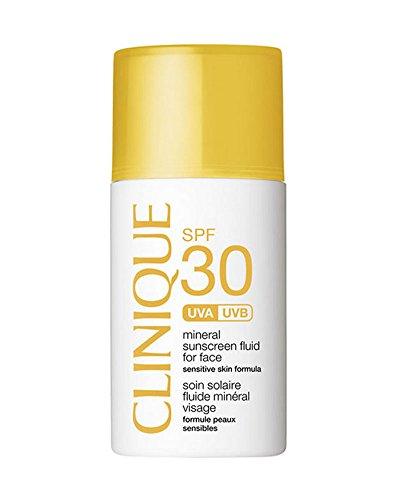 Clinique, SPF 30 Fluido Protettivo Solare Minerale Viso Unisex, 30ml