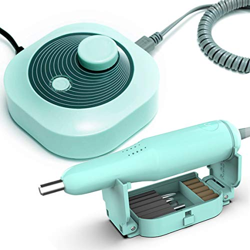 DiiDa Lima elettrica professionale per unghie, manicure, pedicure, kit 25000 u/min, fresa per unghie acriliche, gel, rimozione callus