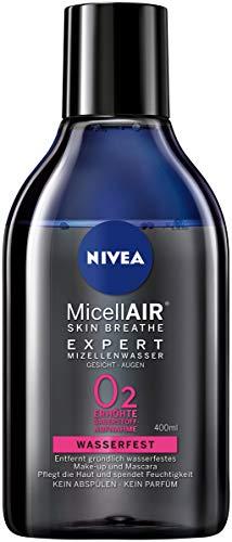 Nivea Mice llair Skin Breathe Expert Micellare Acqua Waterproof, mizellen pulizia acqua per wasserfestes Make Up, confezione da pezzi (2X 400ML)