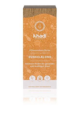 Khadi, Tintura biologica per capelli, colore biondo scuro