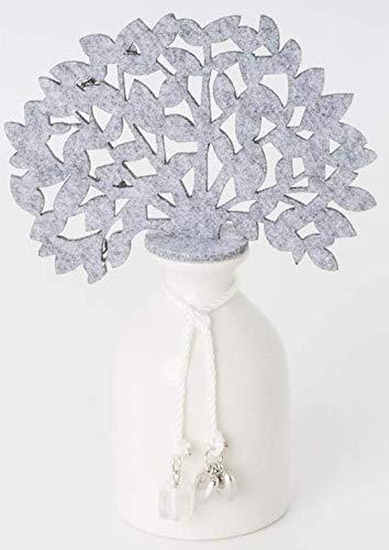 Profumatore albero della vita grigio 17 cm in scatola regalo
