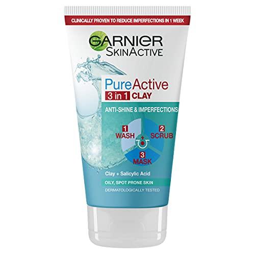 Garnier Pure Active Daily Deep Pore Wash imperfezioni e lucentezza