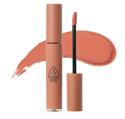 Style Nanda Stylenanda 3CE Velvet Lip Tint (/ Ea) 10 colori/lanciato di recente Lips/Mlbb / Mlbb / (andando a destra) 4G Nudo