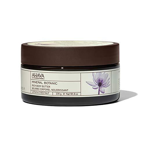 AHAVA Mineral Botanic Burro ricco per il corpo (Aroma Lotus e castagno) - 235 g.