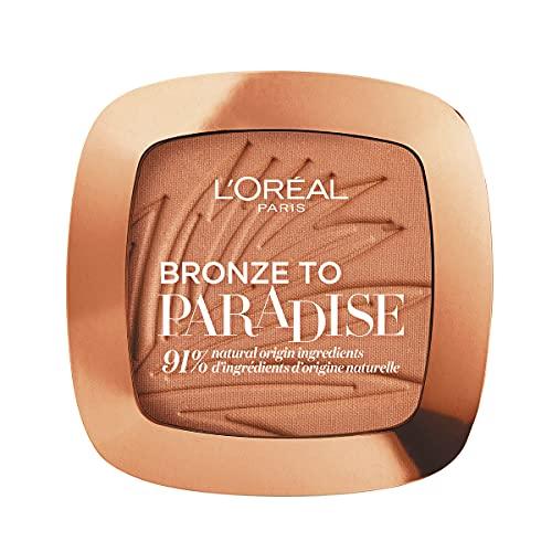 L'Oréal Paris Terra Abbronzante Viso Bronze to Paradise, Bronzer Effetto Matte, Baby One More Tan (02), 9 g