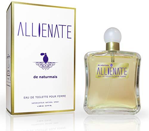 Allienate Eau De Toilette Intense 100 ml. Compatibile con Eau De Parfum Alien Thierry Mug. Profumo Equivalente Donna