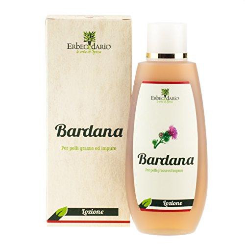 Detergente Viso Pelle Grassa Lozione Bardana Erbecedario, Pelle Impura, Per Depurazione Pelle, 1 Flacone 200ml