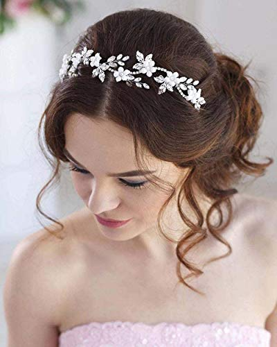 Simsly - Accessorio per capelli da sposa a forma di rampicante, per donne e ragazze