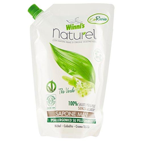 Winni's Naturel Ecoformato Sapone Liquido per le Mani e il Viso - 500 ml