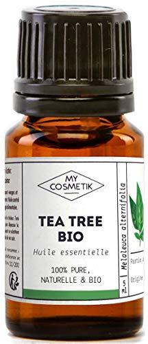 Olio Essenziale Organico di Tea Tree - MyCosmetik - 10 ml