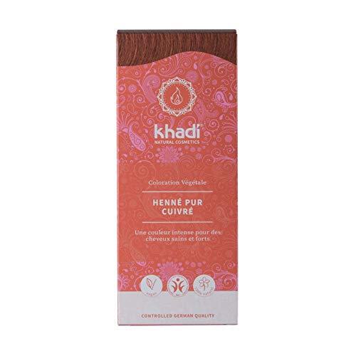 Khadi - Tintura alle piante Henné puro, 100 g, colore: Rosso