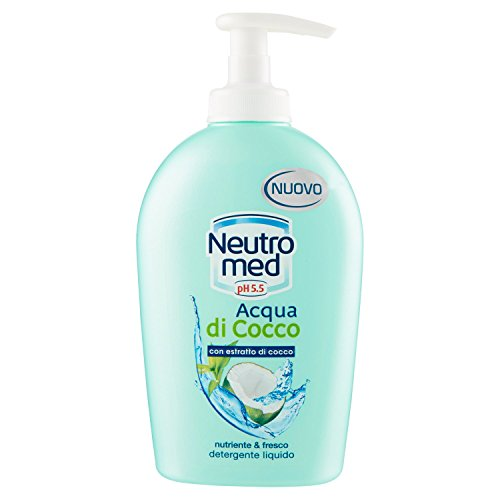 Neutromed - Detergente Liquido Nutriente, Acqua di cocco - 300 ml