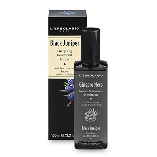 L 'erbolario nero Juniper deodorante spray