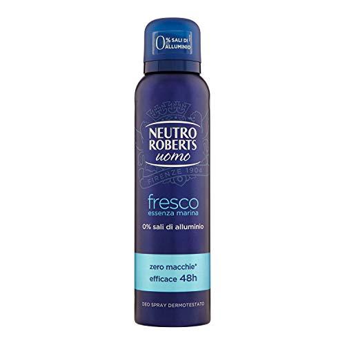 Neutro Roberts Uomo Fresco Essenza Marina Deodorante Spray 150 ml